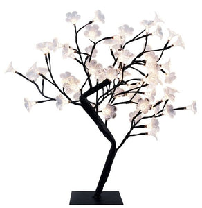 Unquie Simple Design Twinker Lighted Decorative Cherry Tree  Black Branches tranquility