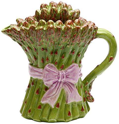 Gifts Asparagus Ceramic Teapot, 5-1/8-Inch Fun Cute Character Home Decor Accent