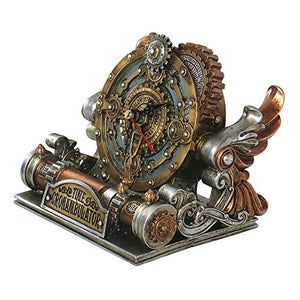 Steampunk Alchemy Empire Time Chronambulator Clock Watch Punk Machine Bronze Accent Home