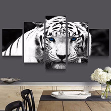 Modern  Canvas Cat Tiger Print  Wall Art Wildlife Animal Wall Art Home Decor Accent