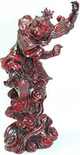 "Red 7"" Monkey King Figurine Sun Wukong Super Hero Statue Feng Shui Collectable Home Decor Accent"