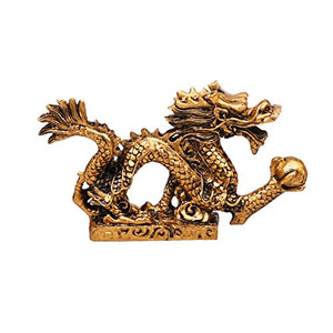 Feng shui Dragon Luck  Success Feng shui resin dragon Statue Sculpture Home Decor Accent