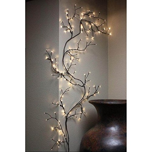 Whimsical Fun Enchanting Lighted Willow Vine Night Light Lamp Home Decor Accent
