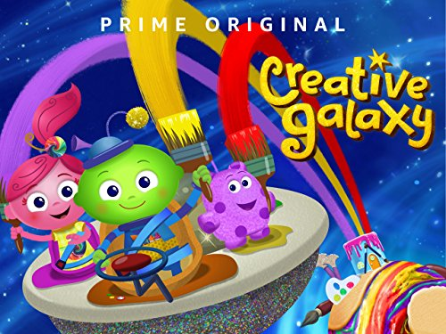 Creative Galaxy Season 2 Animation Little Martians Saucer Kids Children Wall Art Poster