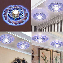 Crystal Stainless Steel Ceiling Lamp Ceiling Light Circular Crystal Lamp Ceiling Light Rotunda