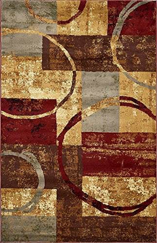 Modern Contemporary Area Rugs Multi 5' x 8' Camden Area Rug Living Room Home Decor Accent