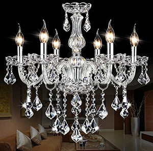 Maple Leaf Crystal Candle Chandeliers Pendant Ceiling Light Fixture Vintage Simplicity Sale