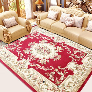 European Style Rug Floral Pattern instant style your Honme soft shades rose sage ivory  Home Decor