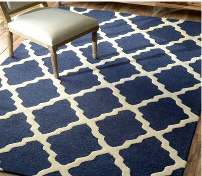 Modern Design Rugs Define Elegance Soft Shades Blue Ivory home Add Texture Accent Home Decor