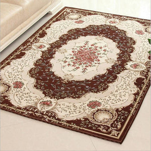 Sage ivory European Style Area Rug Floral Pattern Give instant style Home Decor Accent Home Decor
