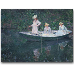 Monet Impressionist Landscape Art Print Poster Wall Art  Accent Home Decor Accent Vivid Color