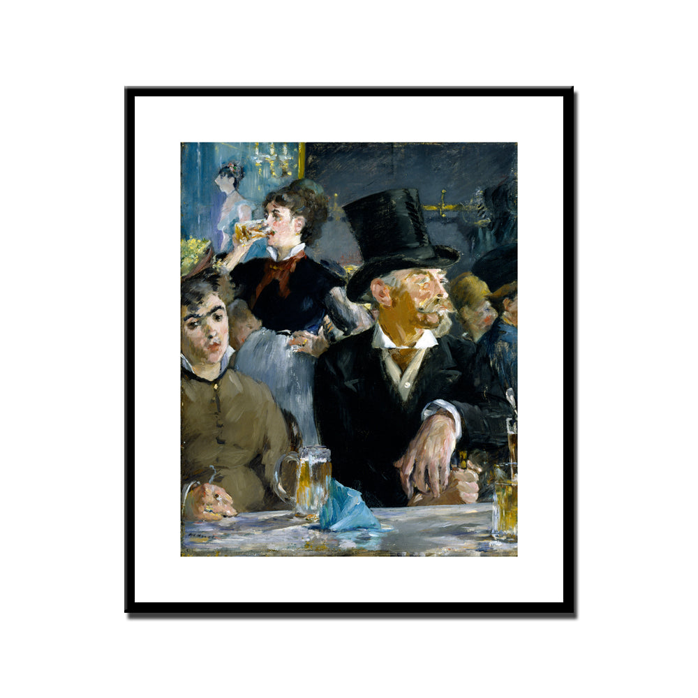 Manet Cafe Concert  Art Print Poster Wall Art  Picture Accent Impressionist Home Decor Accent