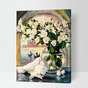 Jav-GX7224 16x20inch Pictures Painting Painting Classical Traditional 40x50cm Art Print Home Decor
