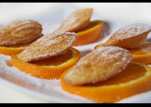 ORANGE CORNBREAD MADELEINES (12-PACK) - THE CORNBREAD KITCHEN SHOP