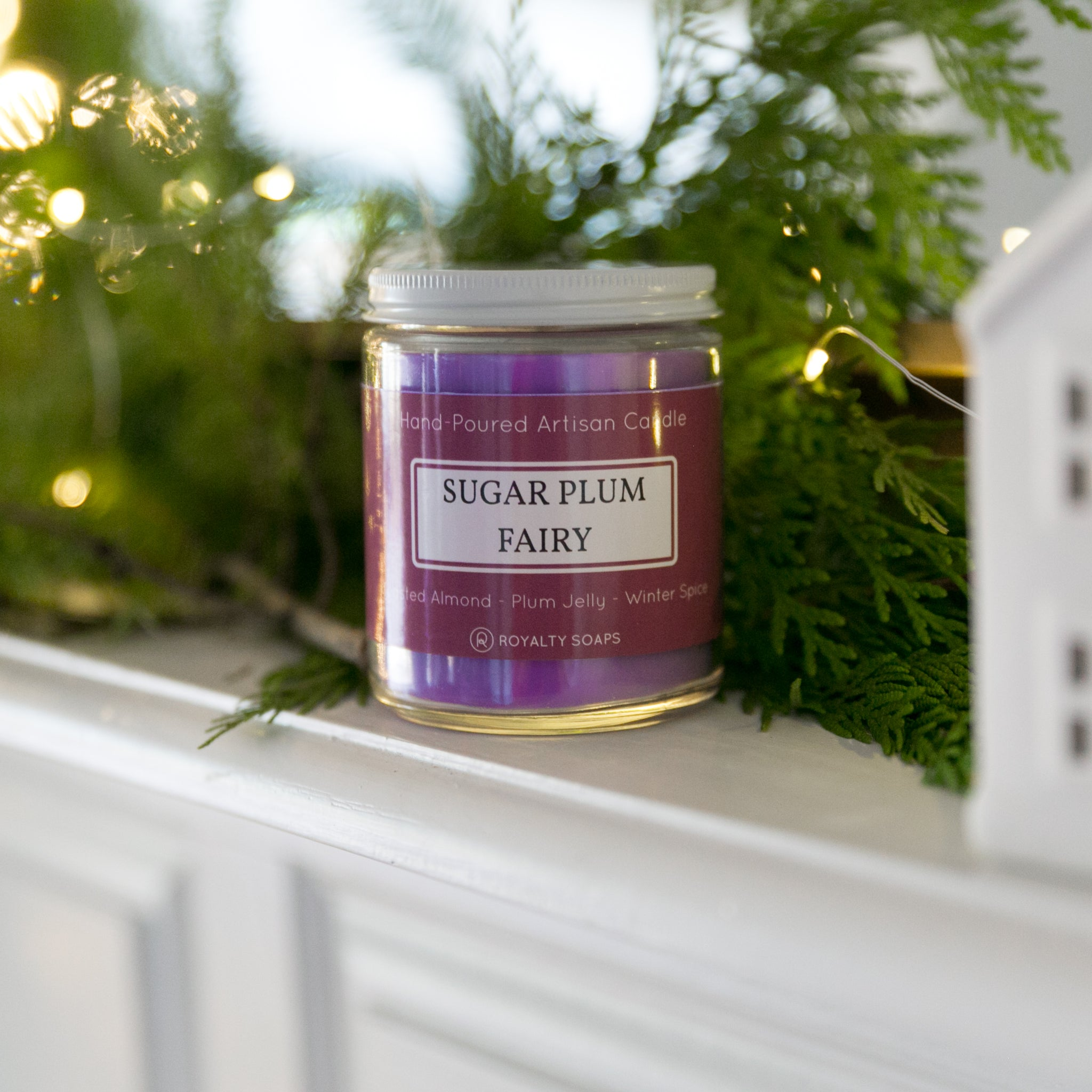 Sugar Plum Fairy Candle