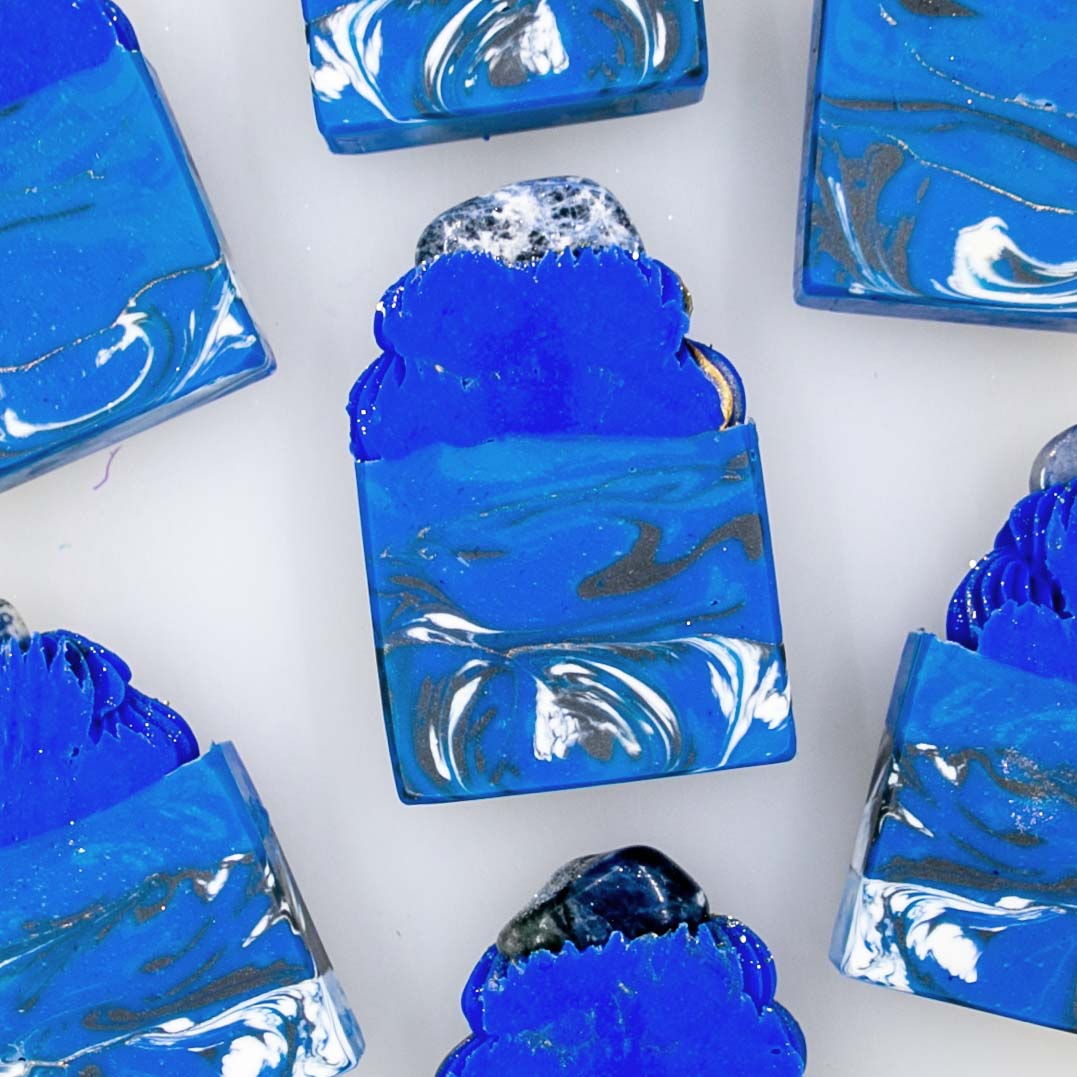 Lapis Lazuli Frosted Soap