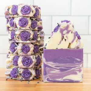Lavender Fields Frosted Soap