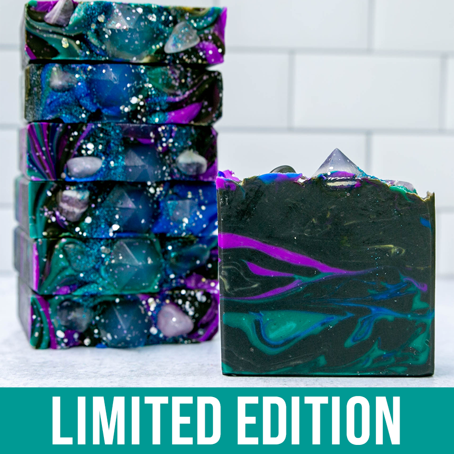 Space Crystals Artisan Soap