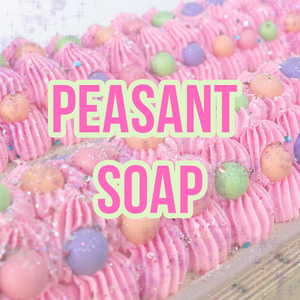 Bubble Candy Peasant Soap