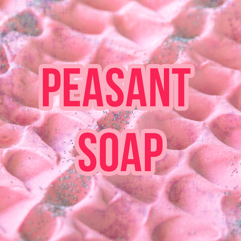 One in a Melon Peasant Soap