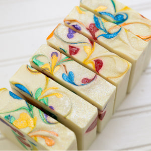 Rainbow Drop Artisan Soap