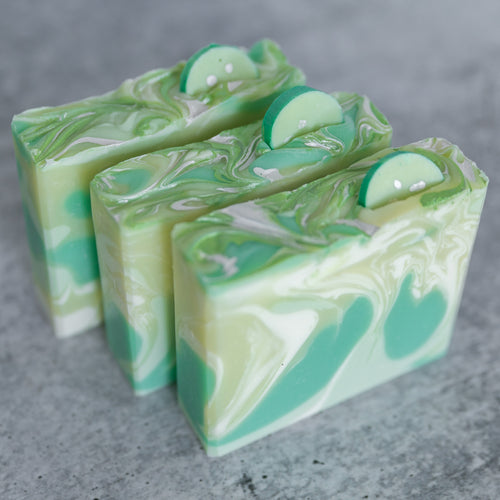 Cucumber Sandwich Artisan Soap