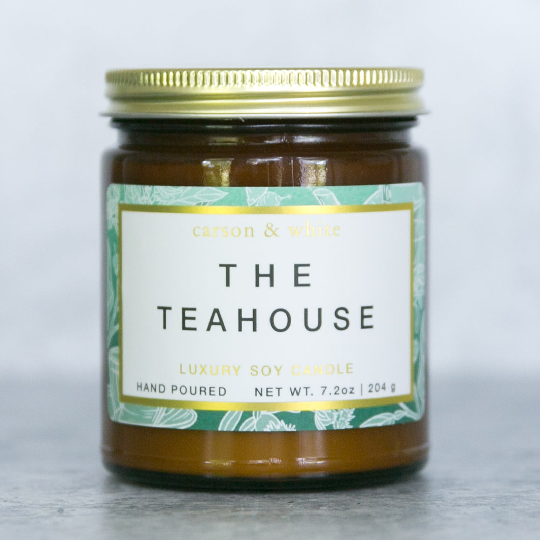 The Teahouse Soy Candle / Terrain