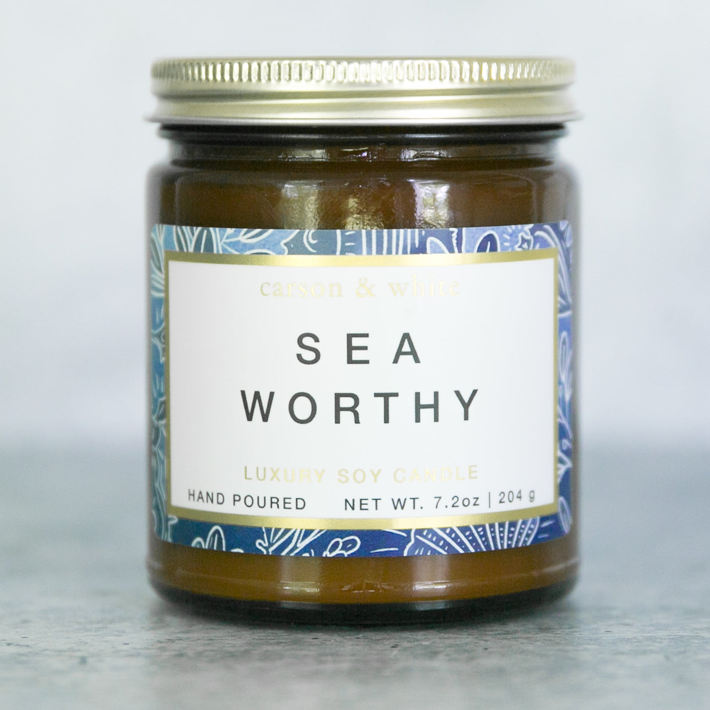 Sea Worthy Soy Candle / Aquatic