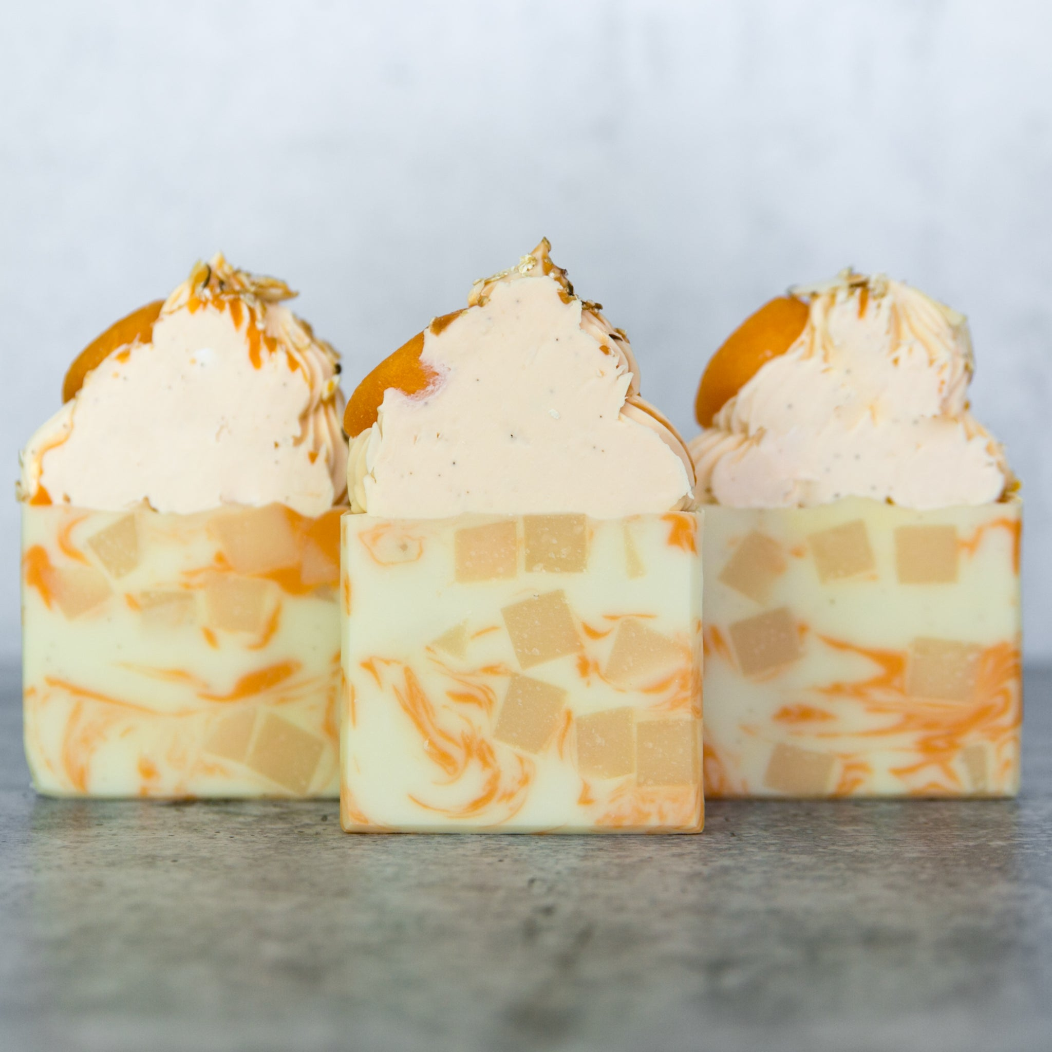 Toasted Almond & Peach Pastries Artisan Soap