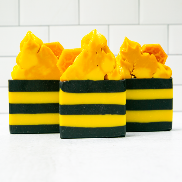 Bumble Bee Frosted Soap