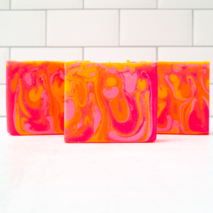 Hot Pink Grapefruit Artisan Soap