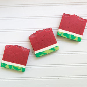 Watermelon Candy Artisan Soap