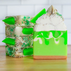 Key Lime & Coconut Frosted Soap