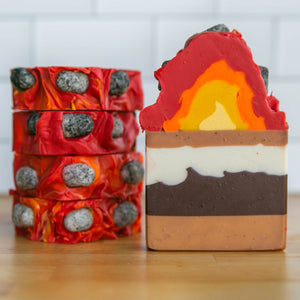 Campfire S'mores Frosted Soap