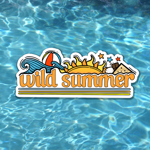 ☀️ Wild Summer Sticker ☀️