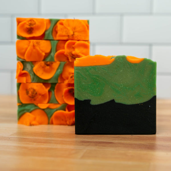California Poppies Artisan Soap