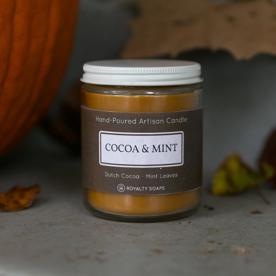 Cocoa & Mint Candle