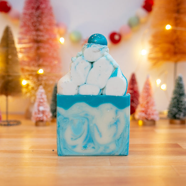 Winter Wonderland Frosted Soap