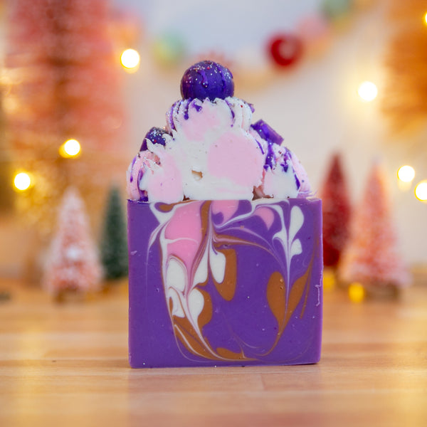 Sugar Plum Fairy Frosted Soap