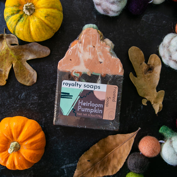 Heirloom Pumpkins Frosted Soap