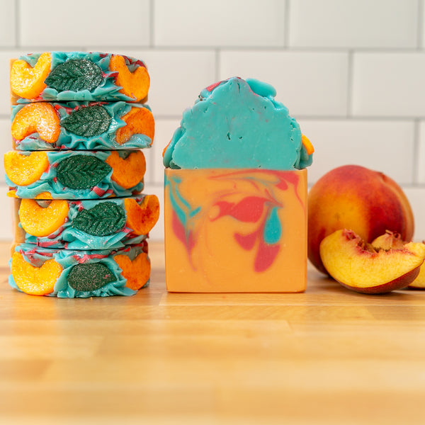 Life's a Peach Frosted Soap