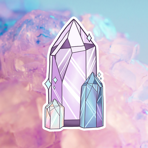 💎 Holographic Crystal Sticker 💎