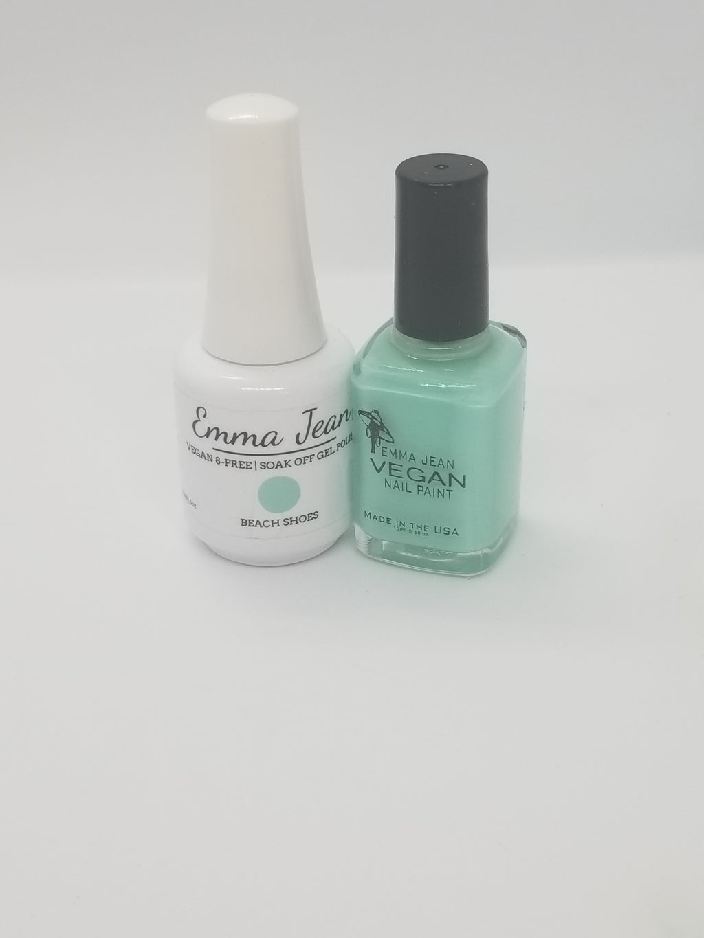 Beach Shoes Vegan Gel & Lacquer Combo