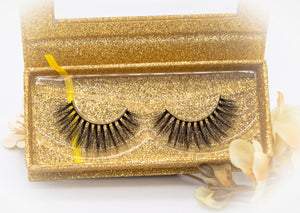 3D FAUX LUXURY MINK CRUELTY FREE EYELASHES-JO