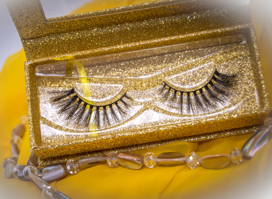 3D FAUX LUXURY MINK CRUELTY FREE EYELASHES-EVELYN