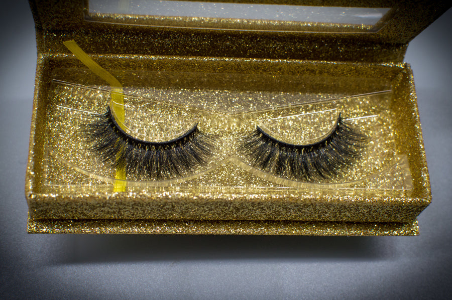 3D FAUX LUXURY MINK CRUELTY FREE EYELASHES-LYDIA