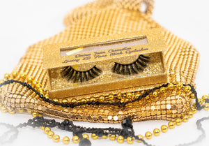 3D FAUX LUXURY MINK CRUELTY FREE EYELASHES-TINA