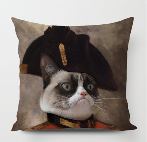 Napoleon Kitty Pillowcase