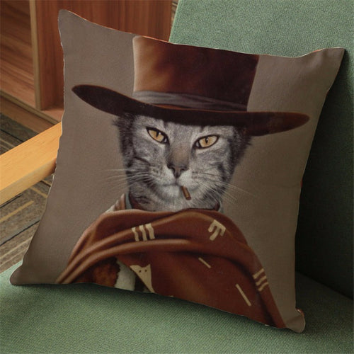 'Kitty Eastwood' Pillowcase