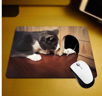 Cat and Mouse Mousepad